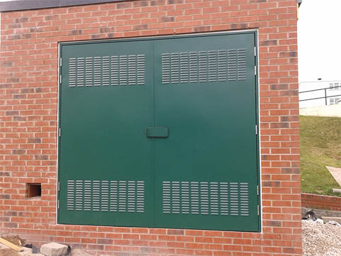 Substation Door - Swinton