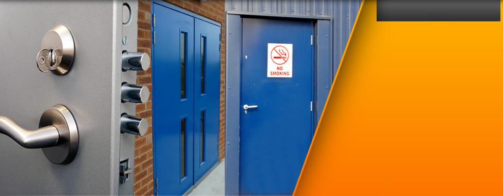 Metal Security Doors, Steel Security Door, Fire Exits - MDM Security Doors