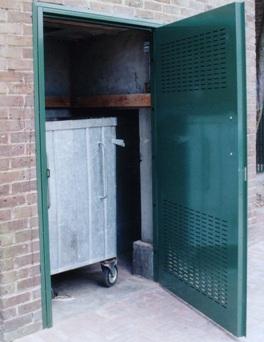 Bin Store Door