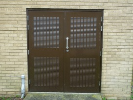 Plantroom Double Doors