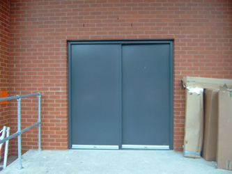 Double Fire Rated Door